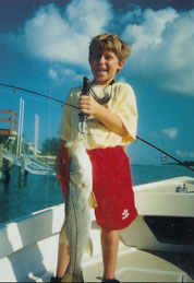 Happy Young Fisherman