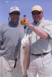 Redfishing in Tampa Bay