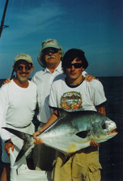Mike and Friends with nice permit