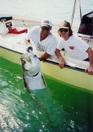 Fishing for tarpon in Boca Grande Pass