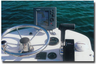 Raymarine Electronics on Tower