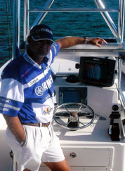 Capt Jeff Uses Raymarine Electronics
