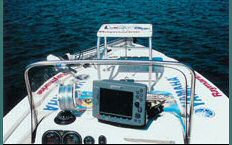 Raymarine Electronics on Tournament Boat