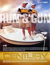 Century Boat Ad featuring Capt. Jeff and Capt. Jamie