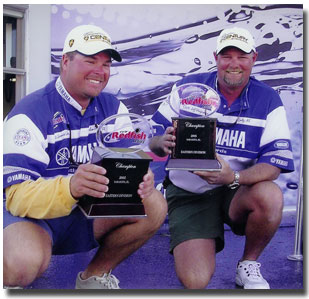 Jeff and Jamie win the Inaugural FLW Redfish Tournament