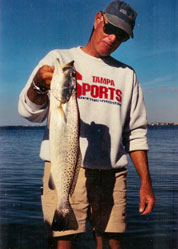 Large Topwater Flats Trout